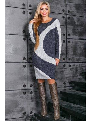 Платье синее   3664335
