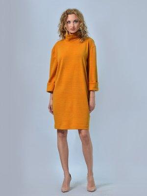 Платье горчичного цвета | 3665414