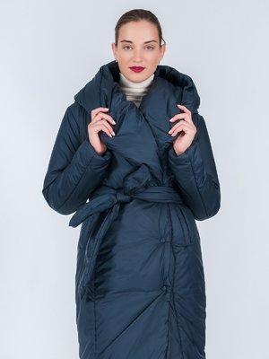 Пальто синє | 3652611