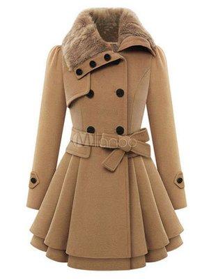 Пальто кольору кемел | 3666272