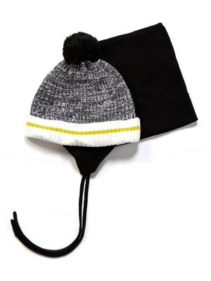 Комплект: шапка і манішка | 3670951