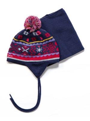 Комплект: шапка і манішка | 3670962