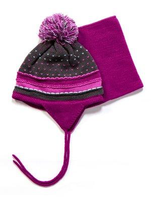 Комплект: шапка і манішка | 3670964