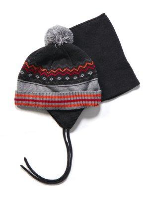 Комплект: шапка и манишка | 3670965