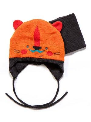 Комплект: шапка і манішка | 3670968