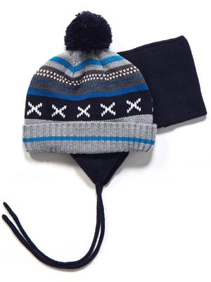 Комплект: шапка и манишка | 3670969