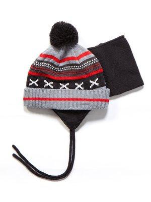 Комплект: шапка и манишка | 3670970