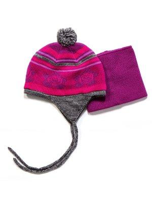 Комплект: шапка і манішка | 3670975