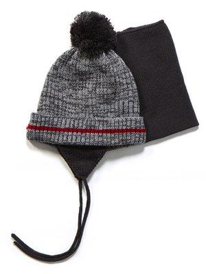 Комплект: шапка і манішка | 3670950