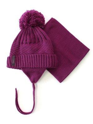 Комплект: шапка і манішка | 3670955