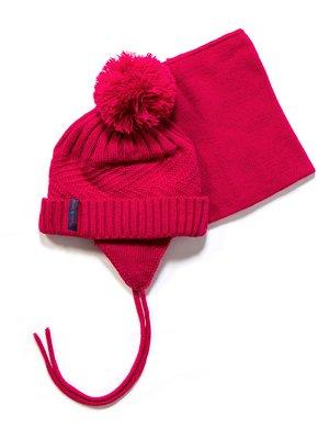 Комплект: шапка і манішка | 3670956