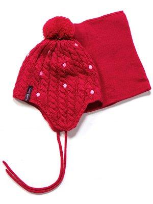 Комплект: шапка і манішка | 3670957