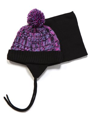 Комплект: шапка і манішка | 3670959