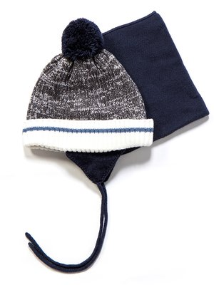 Комплект: шапка і манішка | 3670966