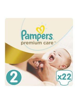 Подгузники Premium Care New Born - размер 2 (для новорожденных) 3-6 кг (22 шт.) - Pampers - 3670170