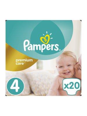 Підгузки Premium Care - розмір 4 (Maxi) 8-14 кг (20 шт.) | 3670175