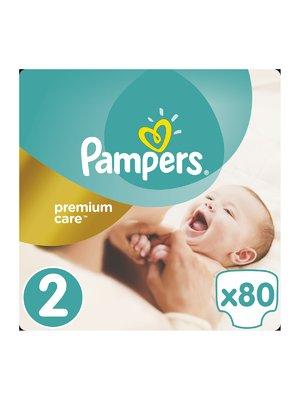 Подгузники Premium Care New Born - размер 2 (для новорожденных) 3-6 кг (80 шт.) | 3670181