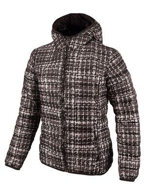 Куртка коричневая в принт | 3665966