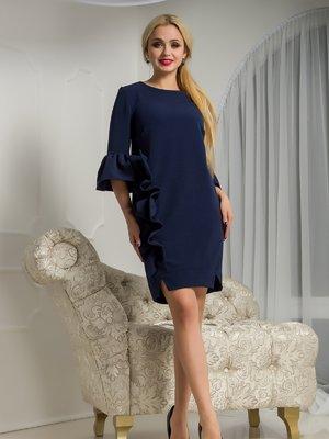 Платье темно-синее | 3645910