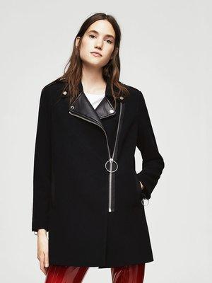 Пальто чорне | 3522609
