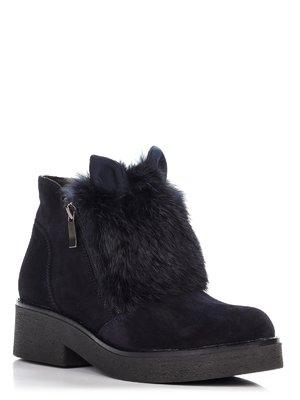 Ботинки синие | 3673309