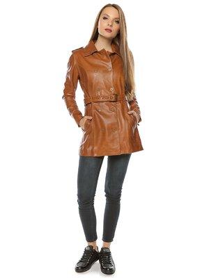 Куртка коньячного кольору | 3674410