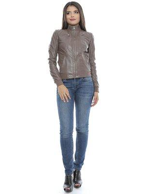 Куртка сіро-коричнева   3674529