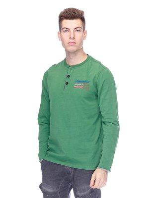Лонгслів зелений | 1977992