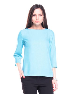 Блуза светло-бирюзовая | 3678746
