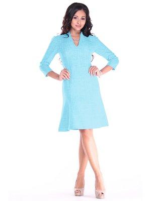Платье светло-бирюзовое | 3678803