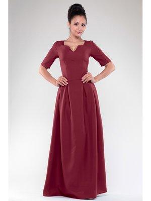 Платье сливового цвета | 3678820