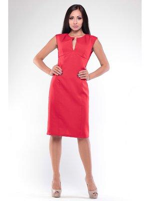 Платье-сарафан красное | 3678830