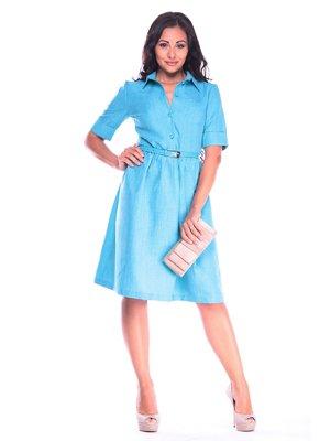 Платье ментоловое | 3678874