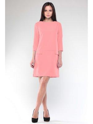 Платье темно-персиковое | 3678938