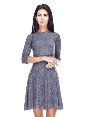 Платье серо-черное | 3351503