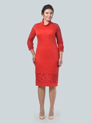 Платье красное | 3683234