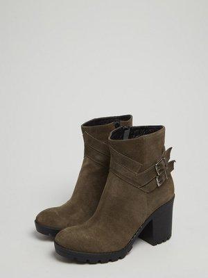 Ботинки цвета хаки | 3674271
