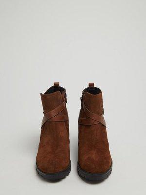 Ботильоны коричневые | 3674308