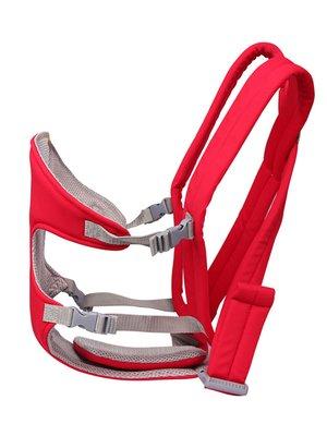 Эргорюкзак красный с перекрестным размещением лямок   3683448