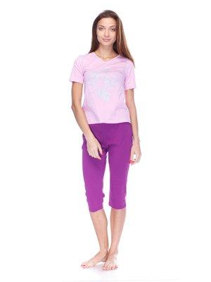 Піжама: футболка і капрі | 3676752