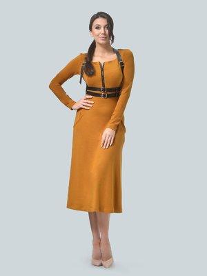 Сукня гірчичного кольору   3683570