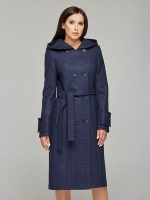 Пальто темно-синее - DANNA - 3683787