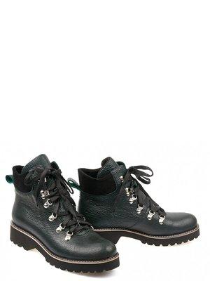 Ботинки черно-зеленые | 3683224