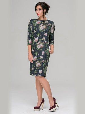 Платье в цветочный принт | 3687342