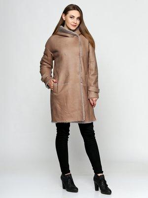 Дубленка коричневая | 3676390