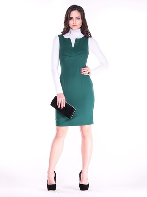 Сукня темно-смарагдового кольору   3686805