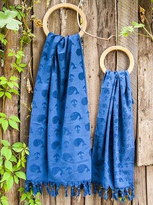 Полотенце Whale lacivert синий (50х90 см) | 3688502