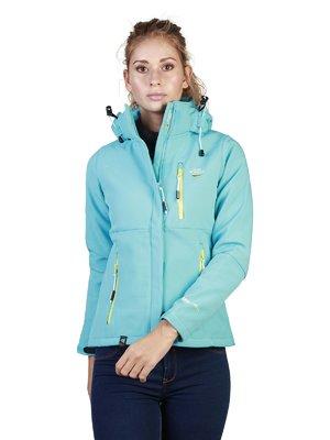 Куртка бірюзова | 3689096