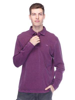Джемпер-поло фіолетовий | 2605411