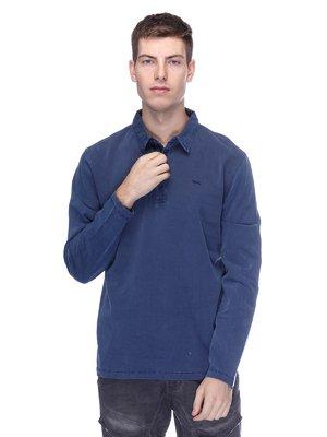 Джемпер-поло синій | 3675902